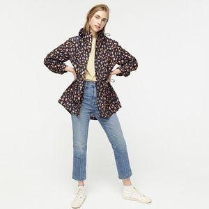 J. Crew Jackets & Coats - J Crew Perfect Raincoat in Leopard